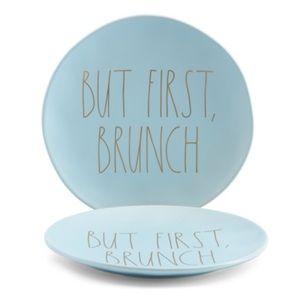 Rae Dunn Plate - But First, Brunch